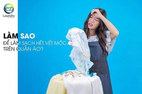 Cách làm sạch vết mốc trên quần áo không phải ai cũng biết – Hệ thống giặt là cao cấp EZ Laundry