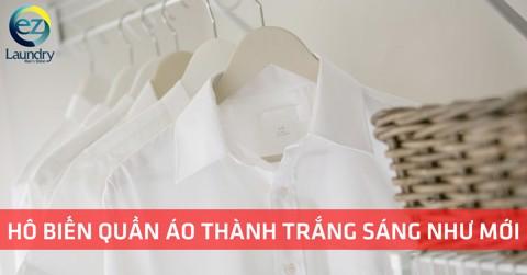 """Biến quần áo màu """"cháo lòng"""" trở lại trắng sạch như mới"""