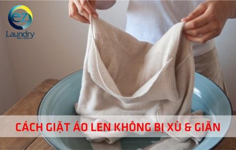 Cách giặt áo len không bị xù và giãn